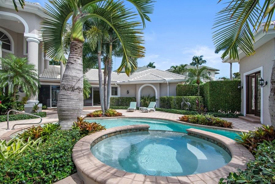 Real Estate Photography - 3231 Tidegate Circle, Jupiter, FL, 33477 - Pool/Spa