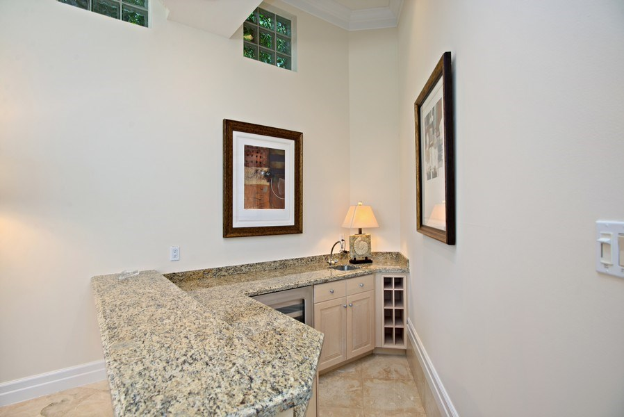 Real Estate Photography - 3231 Tidegate Circle, Jupiter, FL, 33477 - Bar