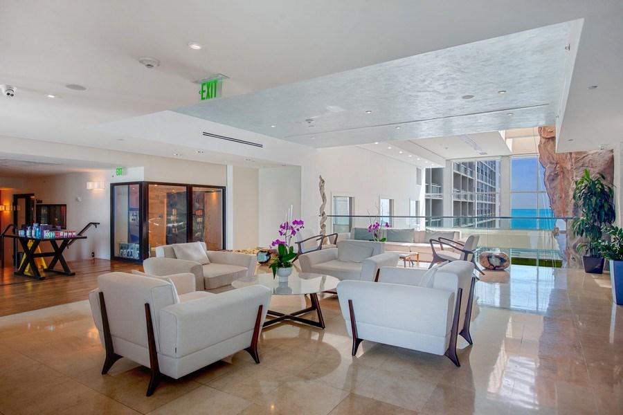 Real Estate Photography - 6899 Collins Avenue, #905, Miami, FL, 33141 - Spa