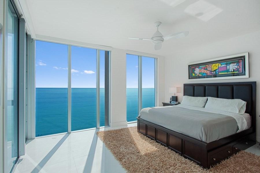 Real Estate Photography - 6899 Collins Avenue, #905, Miami, FL, 33141 - Master Bedroom