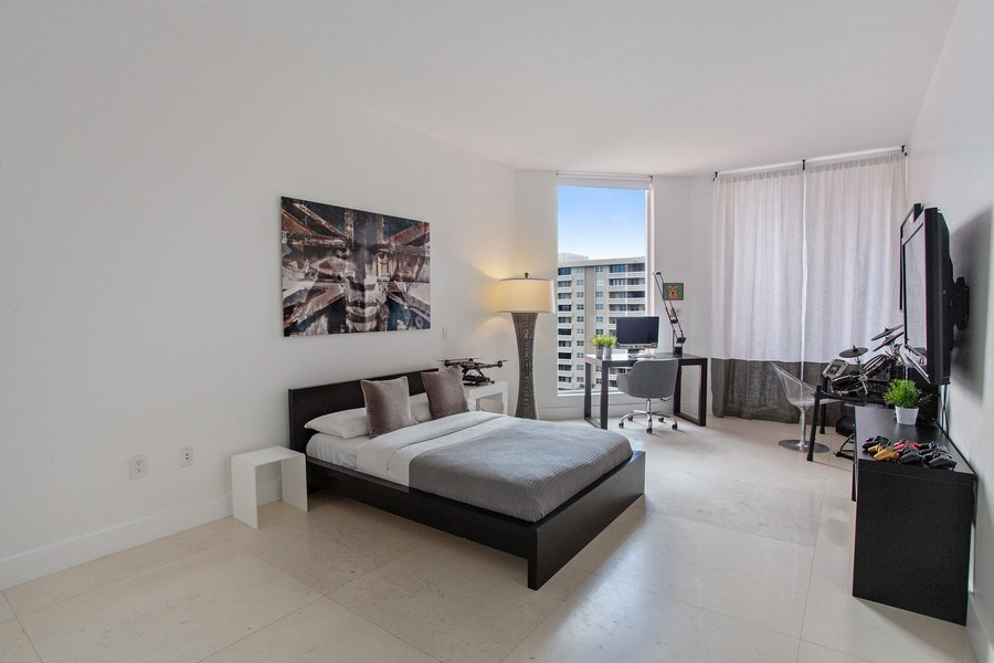 Real Estate Photography - 60 Edgewater Drive, Miami, FL, 33133 - 3rd Bedroom