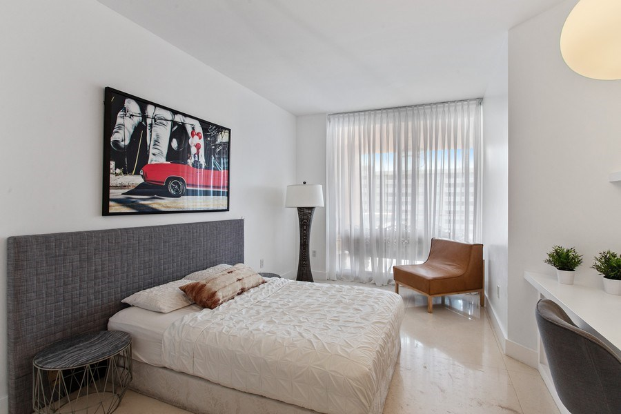 Real Estate Photography - 60 Edgewater Drive, Miami, FL, 33133 - 2nd Bedroom