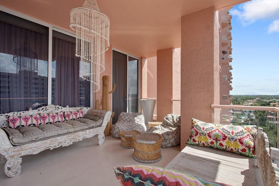 Real Estate Photography - 60 Edgewater Drive, Miami, FL, 33133 - Balcony