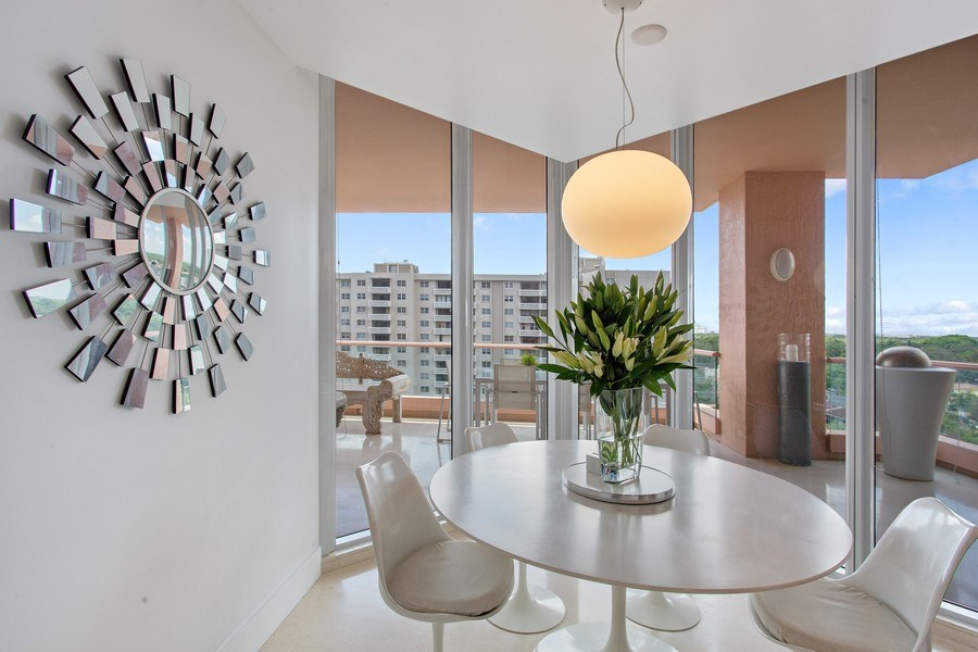 Real Estate Photography - 60 Edgewater Drive, Miami, FL, 33133 - Breakfast Area