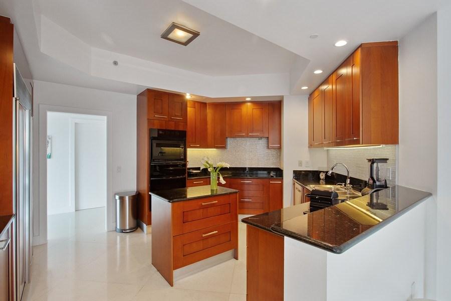 Real Estate Photography - 60 Edgewater Drive, Miami, FL, 33133 - Kitchen