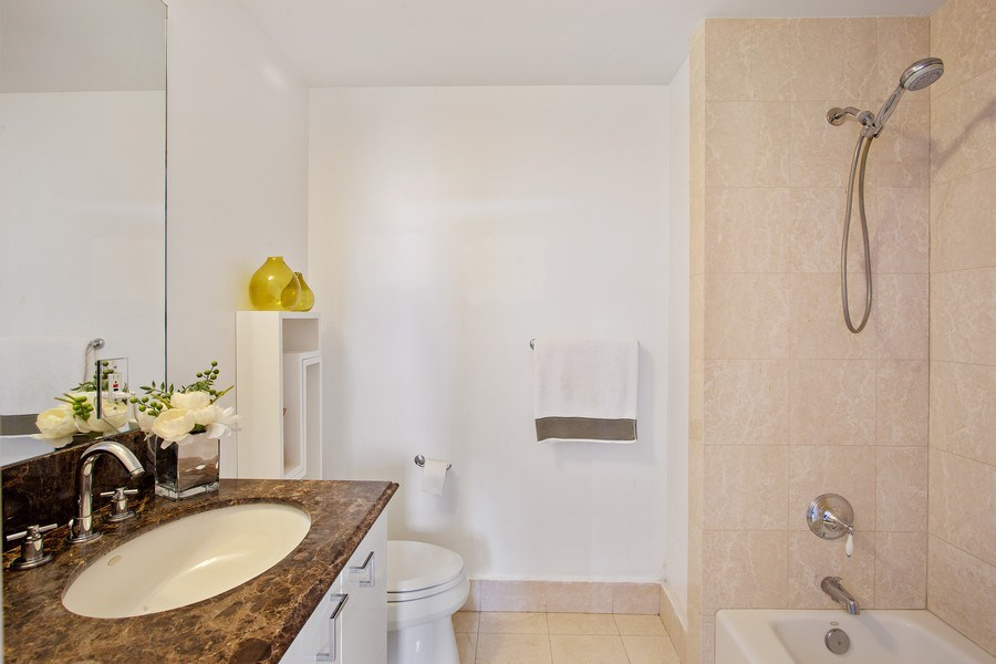 Real Estate Photography - 60 Edgewater Drive, Miami, FL, 33133 - 3rd Bathroom