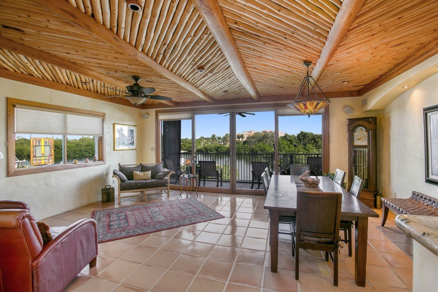 Real Estate Photography - 6018 Paradise Point Drive, Palmetto Bay, FL, 33157 - Living Room