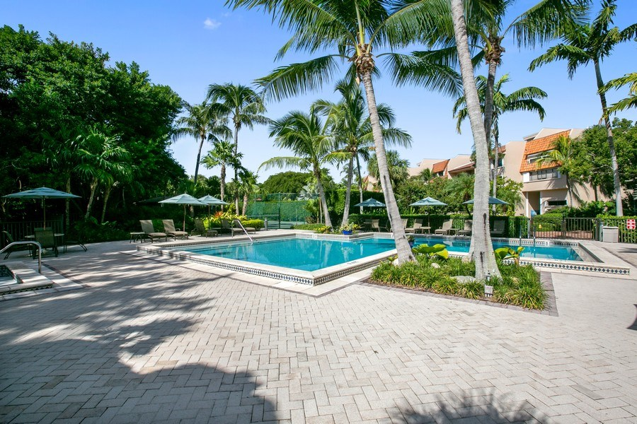 Real Estate Photography - 6018 Paradise Point Drive, Palmetto Bay, FL, 33157 - Pool