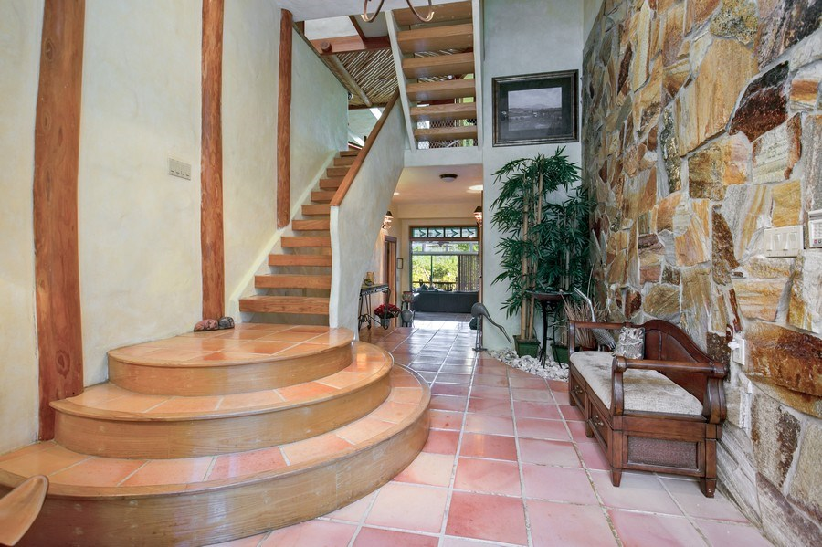 Real Estate Photography - 6018 Paradise Point Drive, Palmetto Bay, FL, 33157 - Foyer