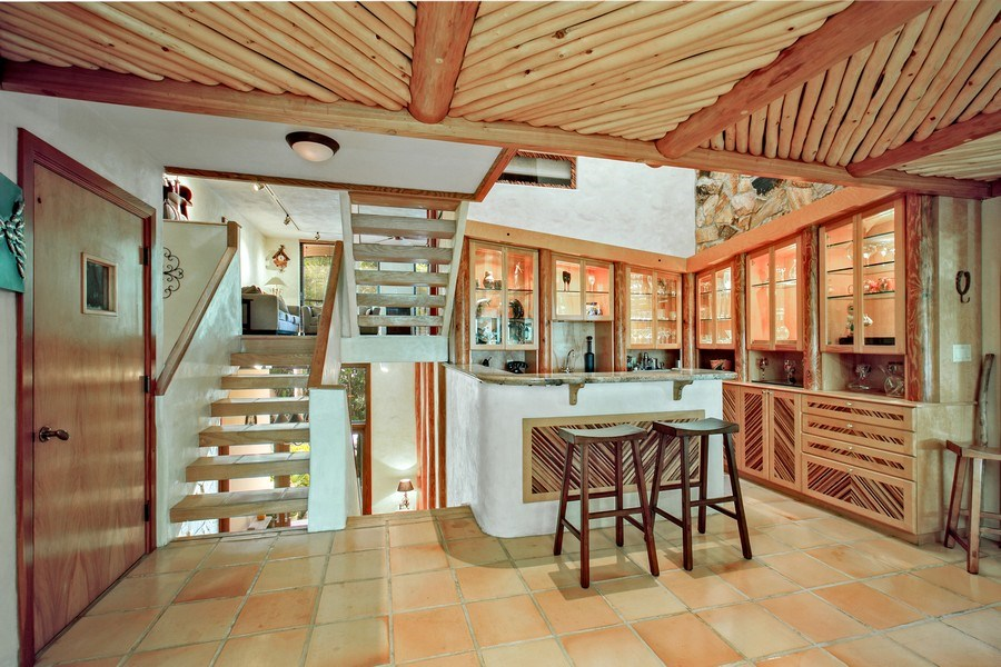 Real Estate Photography - 6018 Paradise Point Drive, Palmetto Bay, FL, 33157 - Bar