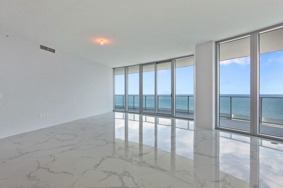 Real Estate Photography - 701 N. Ft. Lauderdale Beach Blvd. #1201, Fort Lauderdale, FL, 33304 - Living Room