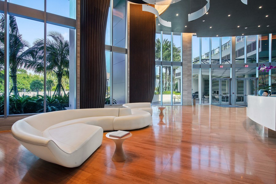 Real Estate Photography - 701 N. Ft. Lauderdale Beach Blvd. #1201, Fort Lauderdale, FL, 33304 - Lobby