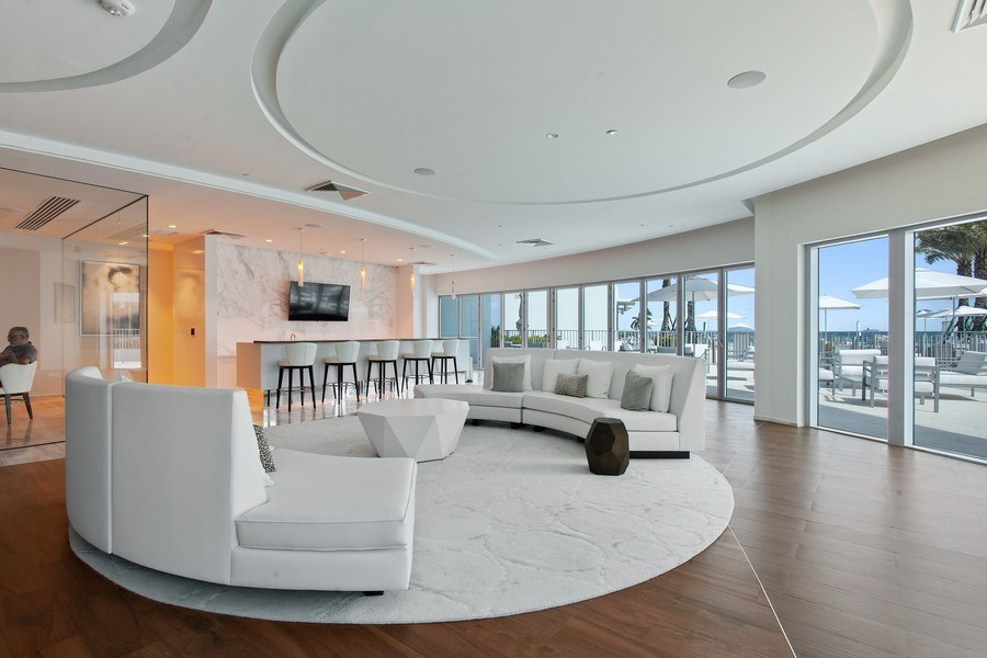 Real Estate Photography - 701 N. Ft. Lauderdale Beach Blvd. #1201, Fort Lauderdale, FL, 33304 - Clubhouse