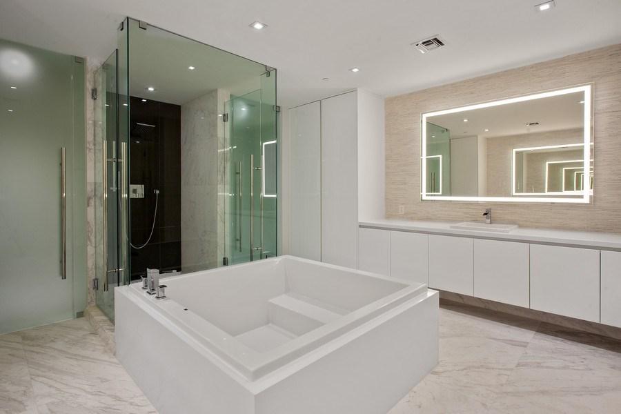 Real Estate Photography - 701 N. Ft. Lauderdale Beach Blvd. #1201, Fort Lauderdale, FL, 33304 - Master Bathroom