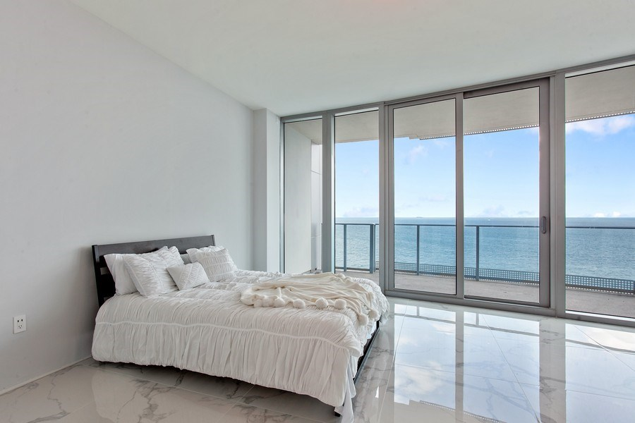Real Estate Photography - 701 N. Ft. Lauderdale Beach Blvd. #1201, Fort Lauderdale, FL, 33304 - Master Bedroom
