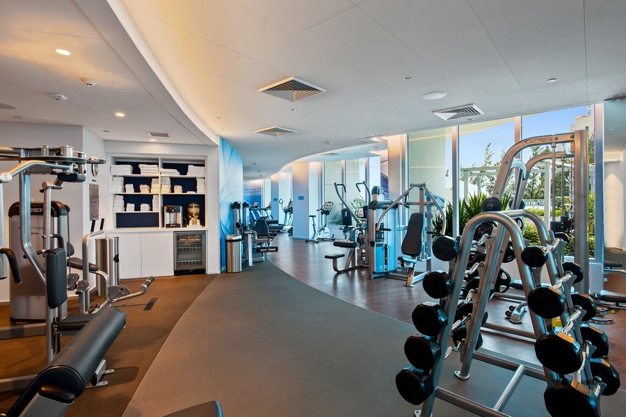Real Estate Photography - 701 N. Ft. Lauderdale Beach Blvd. #1201, Fort Lauderdale, FL, 33304 - Gym