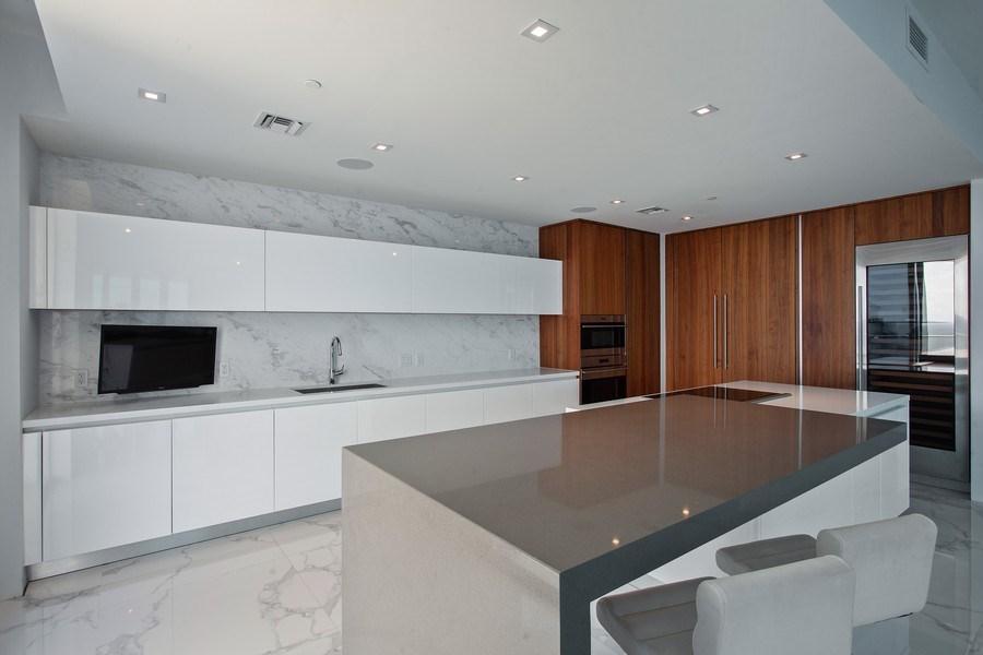 Real Estate Photography - 701 N. Ft. Lauderdale Beach Blvd. #1201, Fort Lauderdale, FL, 33304 - Kitchen