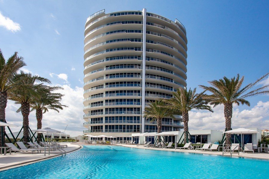 Real Estate Photography - 701 N. Ft. Lauderdale Beach Blvd. #1201, Fort Lauderdale, FL, 33304 - Front View