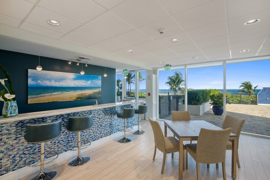 Real Estate Photography - 2800 S. Ocean Blvd., #1H, Boca Raton, FL, 33432 - Clubhouse