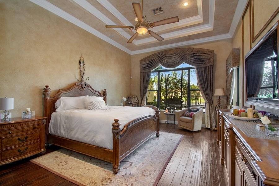 Real Estate Photography - 17947 Lake Azure Way, Boca Raton, FL, 33496 - Master Bedroom