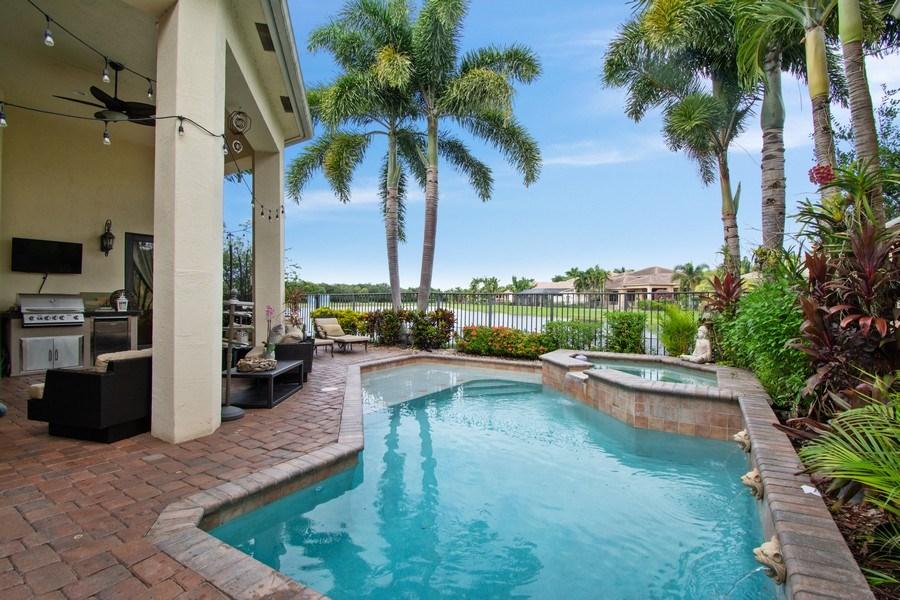 Real Estate Photography - 17947 Lake Azure Way, Boca Raton, FL, 33496 - Pool