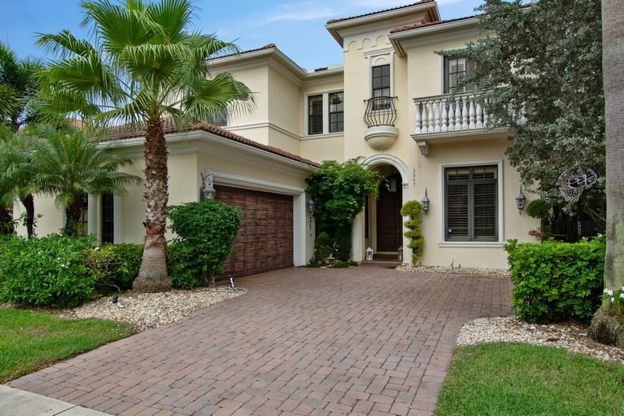 Real Estate Photography - 17947 Lake Azure Way, Boca Raton, FL, 33496 - Front View