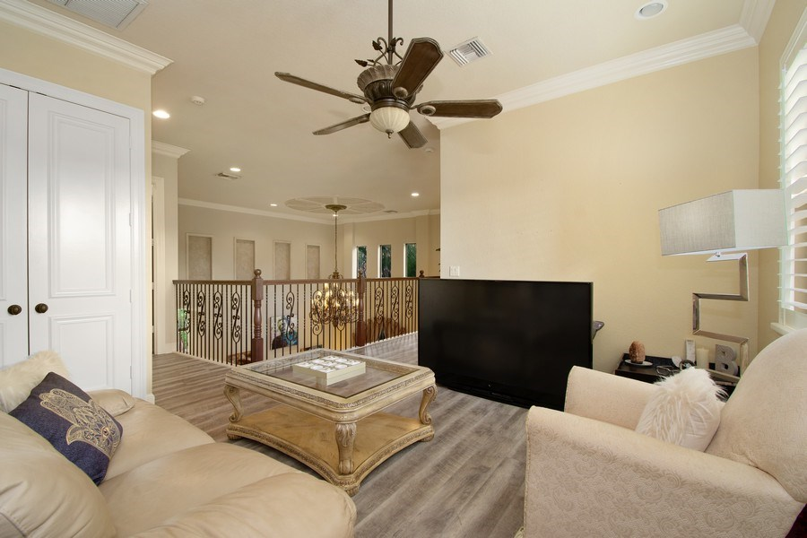 Real Estate Photography - 17947 Lake Azure Way, Boca Raton, FL, 33496 - Loft