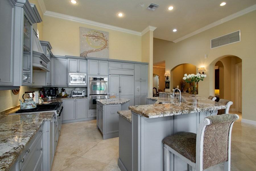 Real Estate Photography - 17947 Lake Azure Way, Boca Raton, FL, 33496 - Kitchen