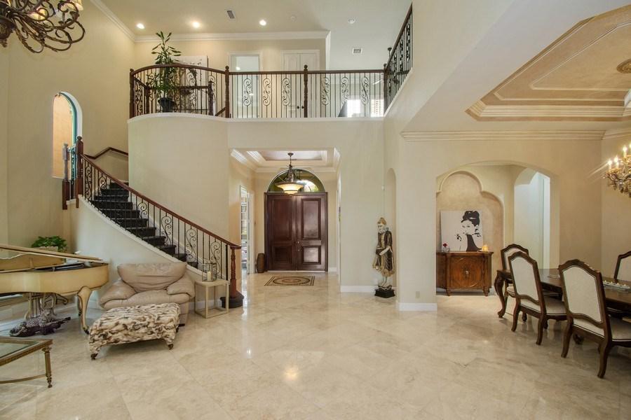 Real Estate Photography - 17947 Lake Azure Way, Boca Raton, FL, 33496 - Living Room / Dining Room