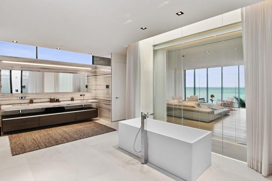 Real Estate Photography - 3715 S. Ocean Blvd., Highland Beach, FL, 33487 - Master Bathroom