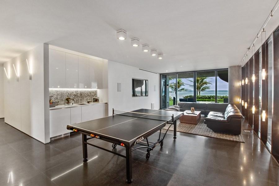 Real Estate Photography - 3715 S. Ocean Blvd., Highland Beach, FL, 33487 - Gameroom