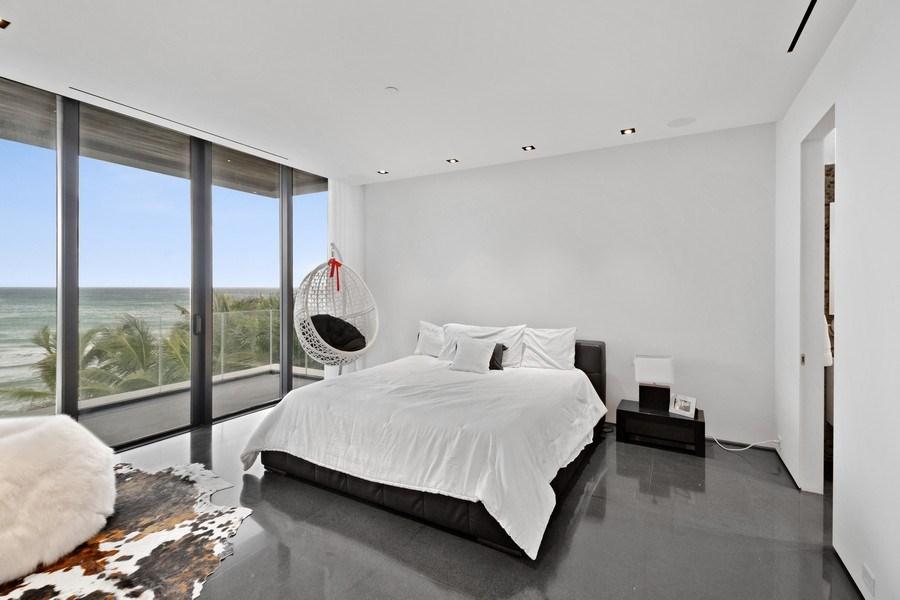 Real Estate Photography - 3715 S. Ocean Blvd., Highland Beach, FL, 33487 - Bedroom