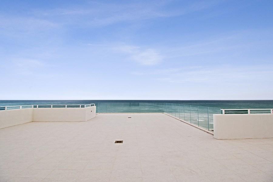 Real Estate Photography - 3715 S. Ocean Blvd., Highland Beach, FL, 33487 - Roof Deck