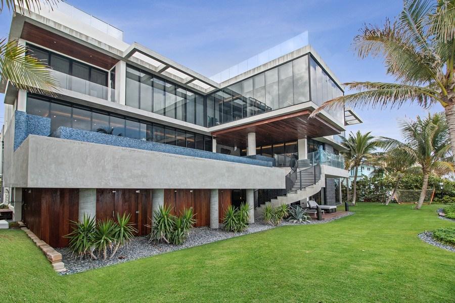 Real Estate Photography - 3715 S. Ocean Blvd., Highland Beach, FL, 33487 - Back Yard