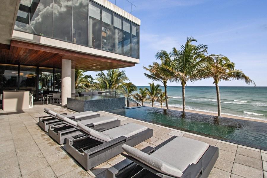 Real Estate Photography - 3715 S. Ocean Blvd., Highland Beach, FL, 33487 - Pool