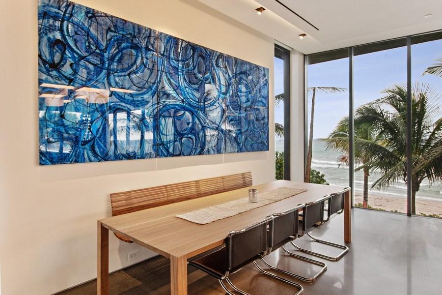 Real Estate Photography - 3715 S. Ocean Blvd., Highland Beach, FL, 33487 - Breakfast Area