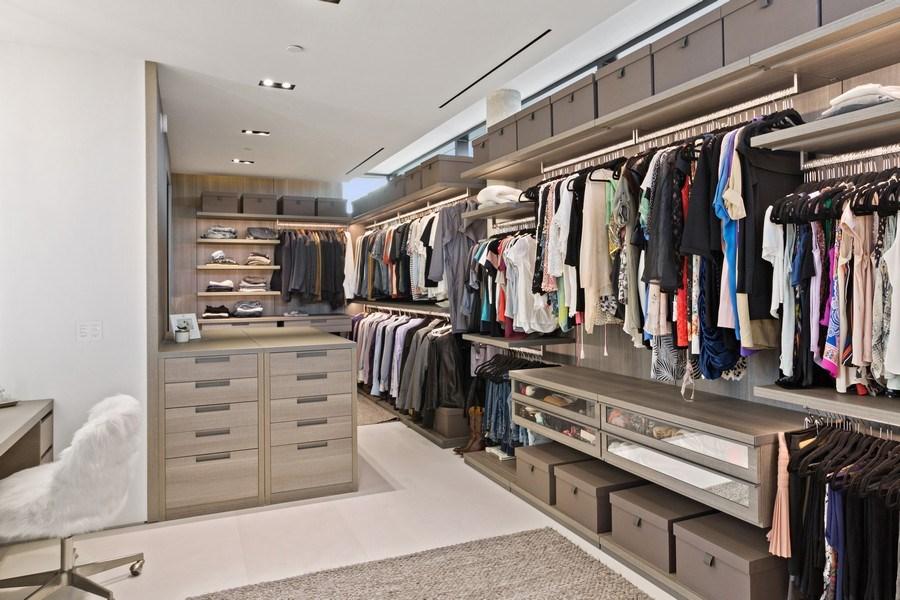 Real Estate Photography - 3715 S. Ocean Blvd., Highland Beach, FL, 33487 - Master Bedroom Closet