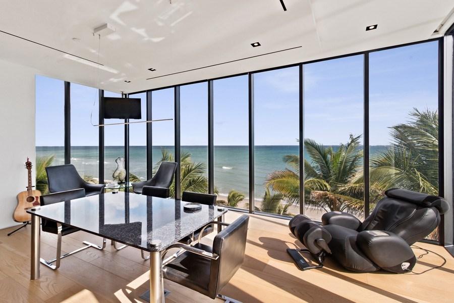 Real Estate Photography - 3715 S. Ocean Blvd., Highland Beach, FL, 33487 - Office