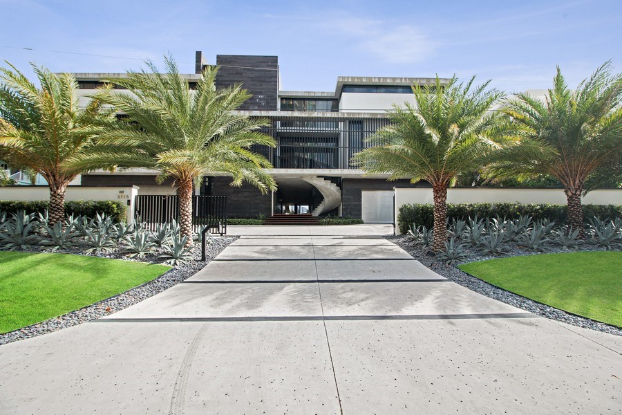 Real Estate Photography - 3715 S. Ocean Blvd., Highland Beach, FL, 33487 - Front View