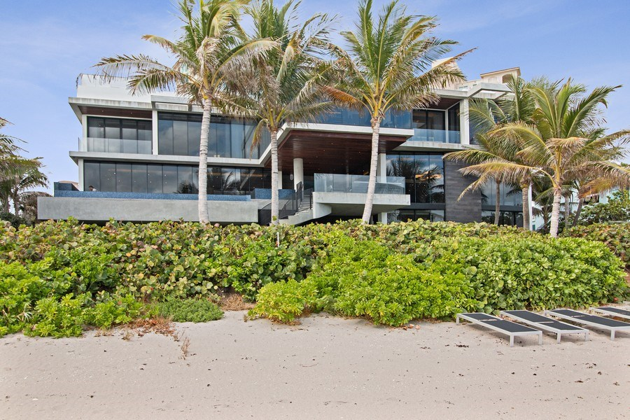 Real Estate Photography - 3715 S. Ocean Blvd., Highland Beach, FL, 33487 - Rear View