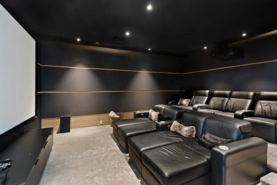 Real Estate Photography - 3715 S. Ocean Blvd., Highland Beach, FL, 33487 - Theater