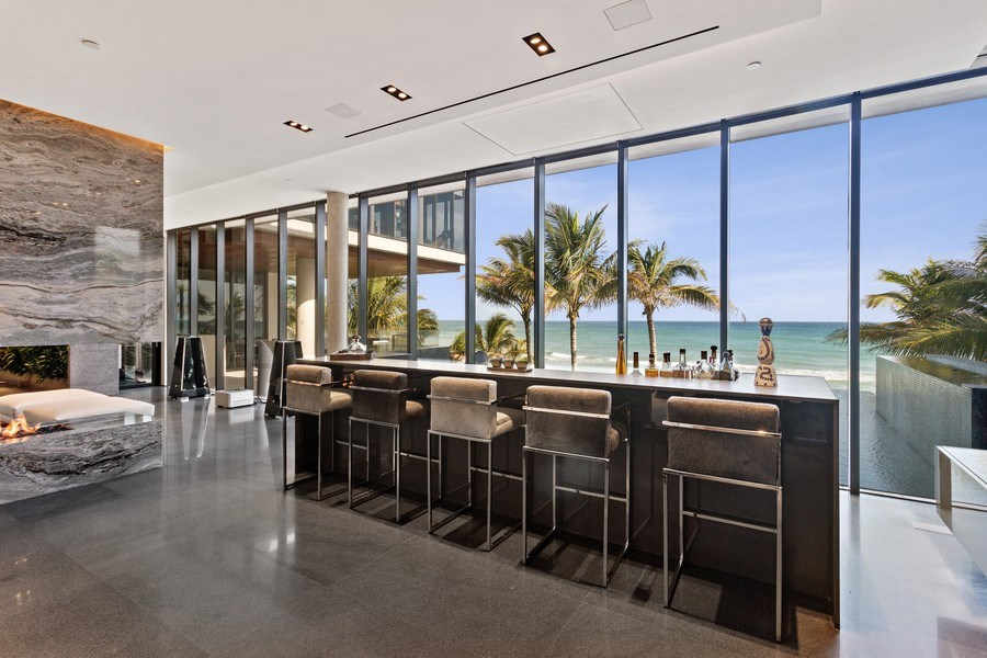 Real Estate Photography - 3715 S. Ocean Blvd., Highland Beach, FL, 33487 - Bar
