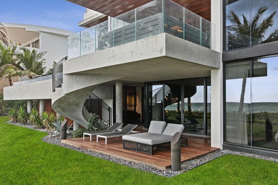 Real Estate Photography - 3715 S. Ocean Blvd., Highland Beach, FL, 33487 - Patio