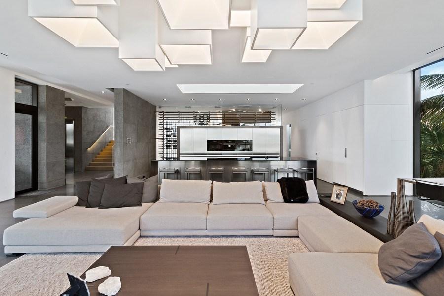 Real Estate Photography - 3715 S. Ocean Blvd., Highland Beach, FL, 33487 - Family Room / Kitchen
