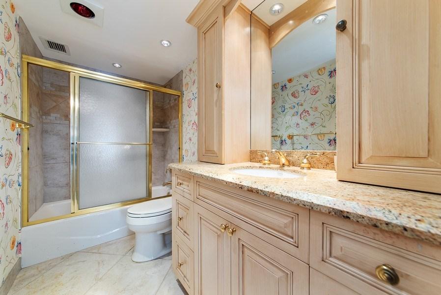 Real Estate Photography - 100 Worth Avenue, #220, Palm Beach, FL, 33480 - Master Bathroom