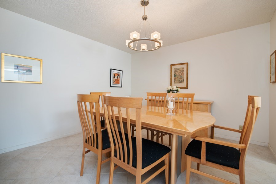 Real Estate Photography - 100 Worth Avenue, #220, Palm Beach, FL, 33480 - Dining Room