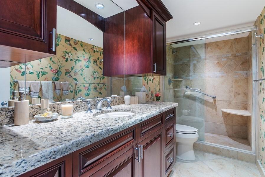 Real Estate Photography - 100 Worth Avenue, #220, Palm Beach, FL, 33480 - Bathroom