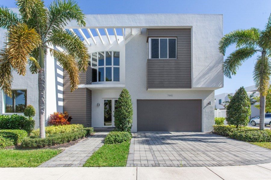 Real Estate Photography - 7445 NW 101st Place, Doral, FL, 33178 - Front View