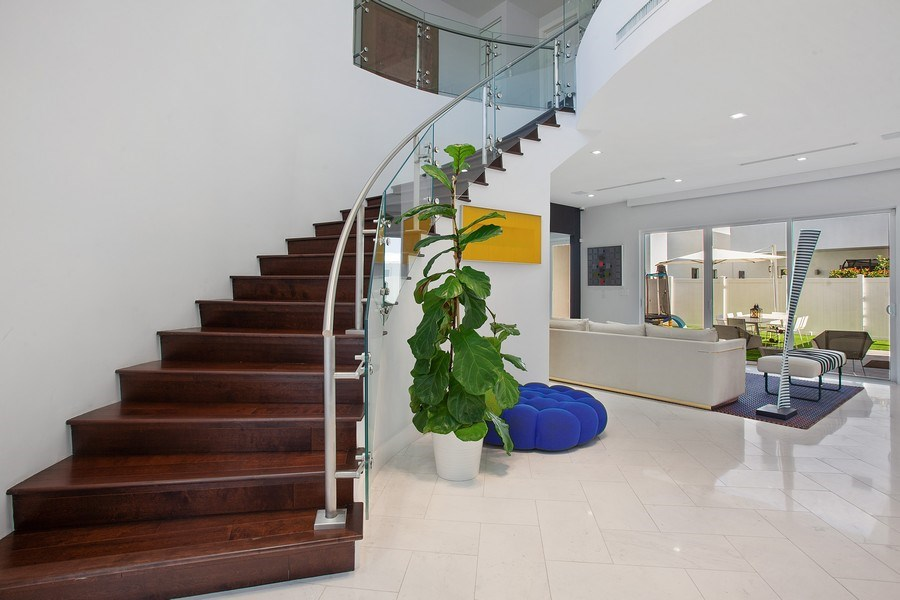 Real Estate Photography - 7445 NW 101st Place, Doral, FL, 33178 - Staircase