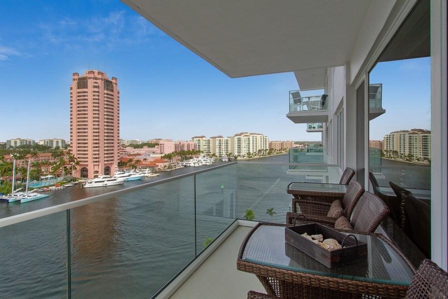 Real Estate Photography - 701 E. Camino Real, #11F, Boca Raton, FL, 33432 - Terrace